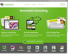 Evernote takes care of all my ideas.