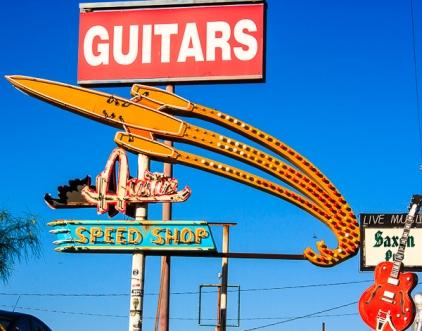 Vanishing Austin_Guitars on Speed by Jann Alexander © 2013