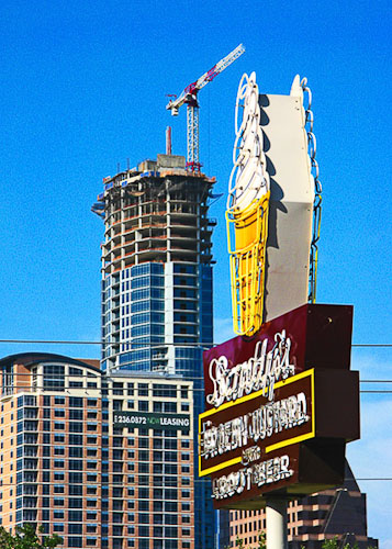 Vanishing Austin_Overtowering Sandy's by Jann Alexander © 2013