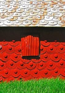 Red Barn, Green Grass by Jann Alexander © 2013