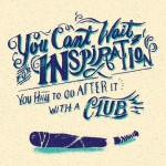 Can't Wait for Inspiration by Svetlana Bilenkina