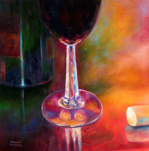 Merlot by Shannon Grissom © 2013