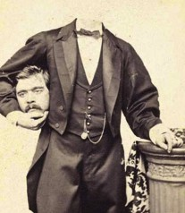 http://victorianachronists.wordpress.com/2013/08/13/terror-tuesday-headless-portraits-from-the-victorian-era/