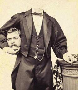 http://victorianachronists.wordpress.com/2013/08/13/terror-tuesday-headless-portraits-from-the-victorian-era/