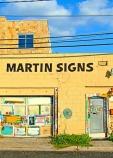 Martin's Signs Off by Jann Alexander © 2013