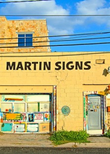 Martin's Signs Off by Jann Alexander © 2013
