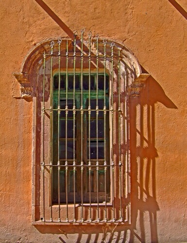 A Window Into Casas Grande by Jann Alexander © 2014