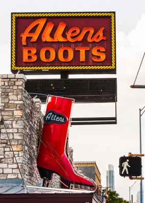 Walk in Allens Boots by Jann Alexander ©2013