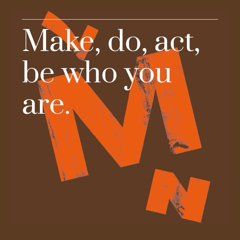 Make, do, act. be