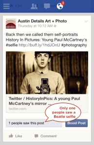 Paul on Facebook