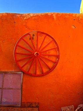 Red Wheel by Jann Alexander ©2015