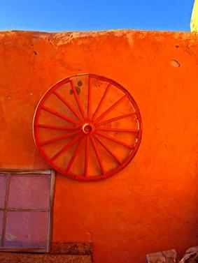 Red Wheel by Jann Alexander ©2015