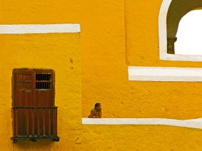 Madonna of Izamal by Jann Alexander ©2014