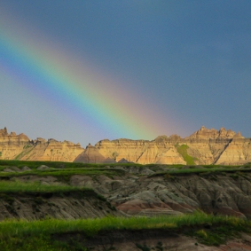 A Pot of Gold in the Badlands by Jann Alexander © 2012