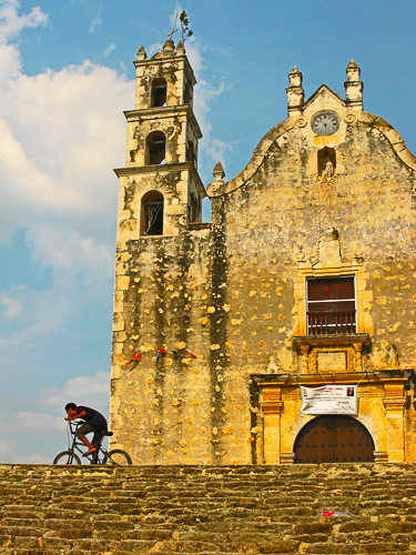 Boy-on-bike-at-Mayan-mission-church