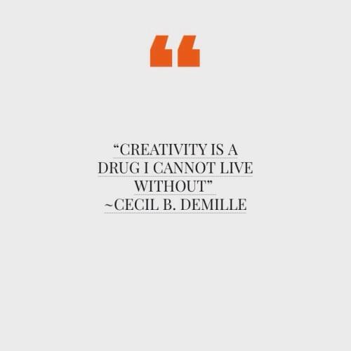 Creativity Drug Quote | Design ©2014 JannAlexander.com