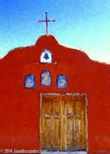 Mission Mexico Photo Painting by Jann Alexander ©2014