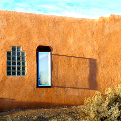 Blue Window by Jann Alexander © 2014