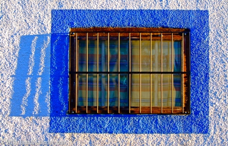 Blue Window by Jann Alexander ©2015