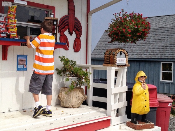 Serendipity at the Lobster Shack by Jann Alexander © 2014