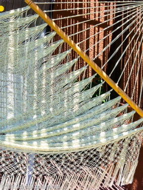 hammock in the shade