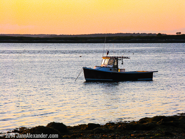 Off-Duty Maine Lobster Boat