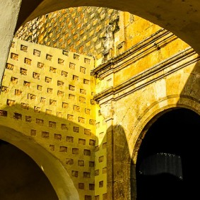 Arches in Valladolid by Jann Alexander © 2014