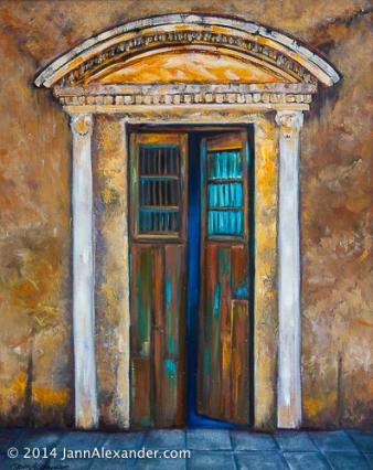 Hidden, Oil on canvas by Jann Alexander ©2014