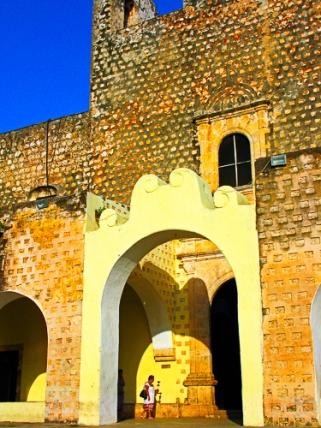 Arch in Valladolid, Yucatan, MX