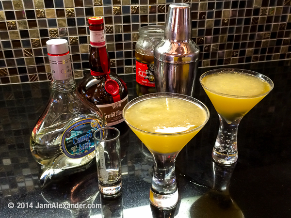 The Perfect Mexican Martini by Jann Alexander ©2014