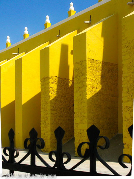 A Fortress in Yellow along the Convent Route