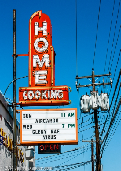 Vanishing Austin_Home Cooking by Jann Alexander © 2014