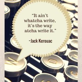 Jack Kerouac quote poster