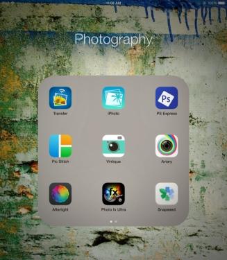 My photo apps