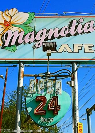 Vanishing Austin_Open 24 Hours by Jann Alexander ©2014