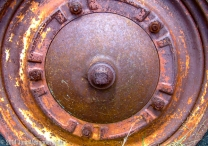 Rusty Wheel by Jann Alexander ©2014-