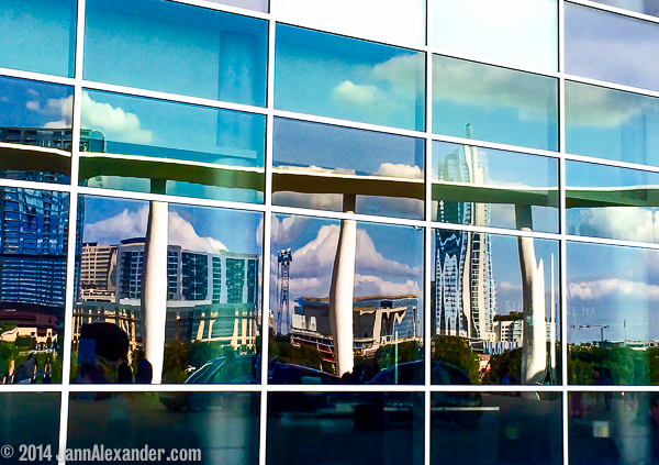 Refracted City by Jann Alexander ©2014