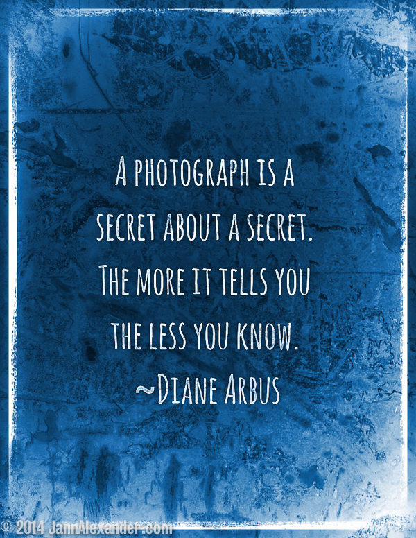 Here's a Secret About Photographs