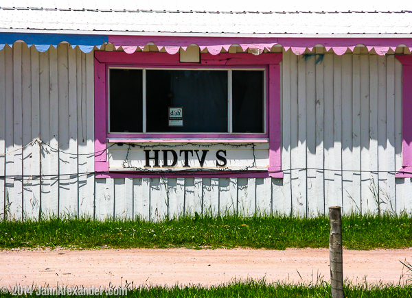 HDTVs: Signs of Changing Times by Jann Alexander ©2014