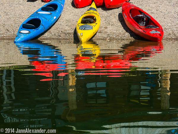 Three Boats by Jann Alexander ©2014
