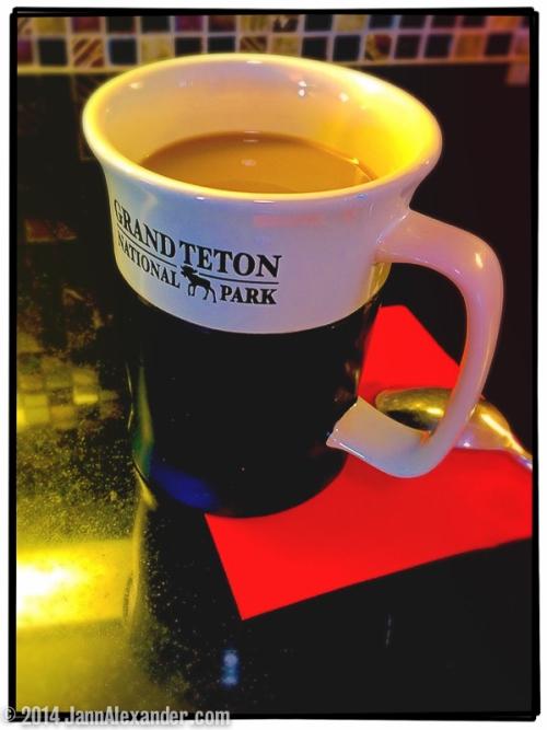Teton Mug iPhoneography by Jann Alexander © 2014