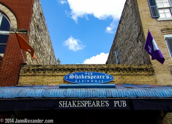 Shakespeare Speaks in Austin by Jann Alexander © 2014