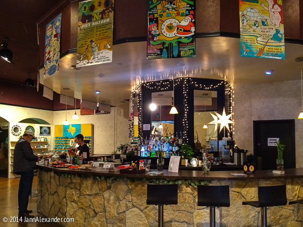 Belly Up to the Bar at the Blue Genie Art Bazaar © 2104 by Jann Alexander