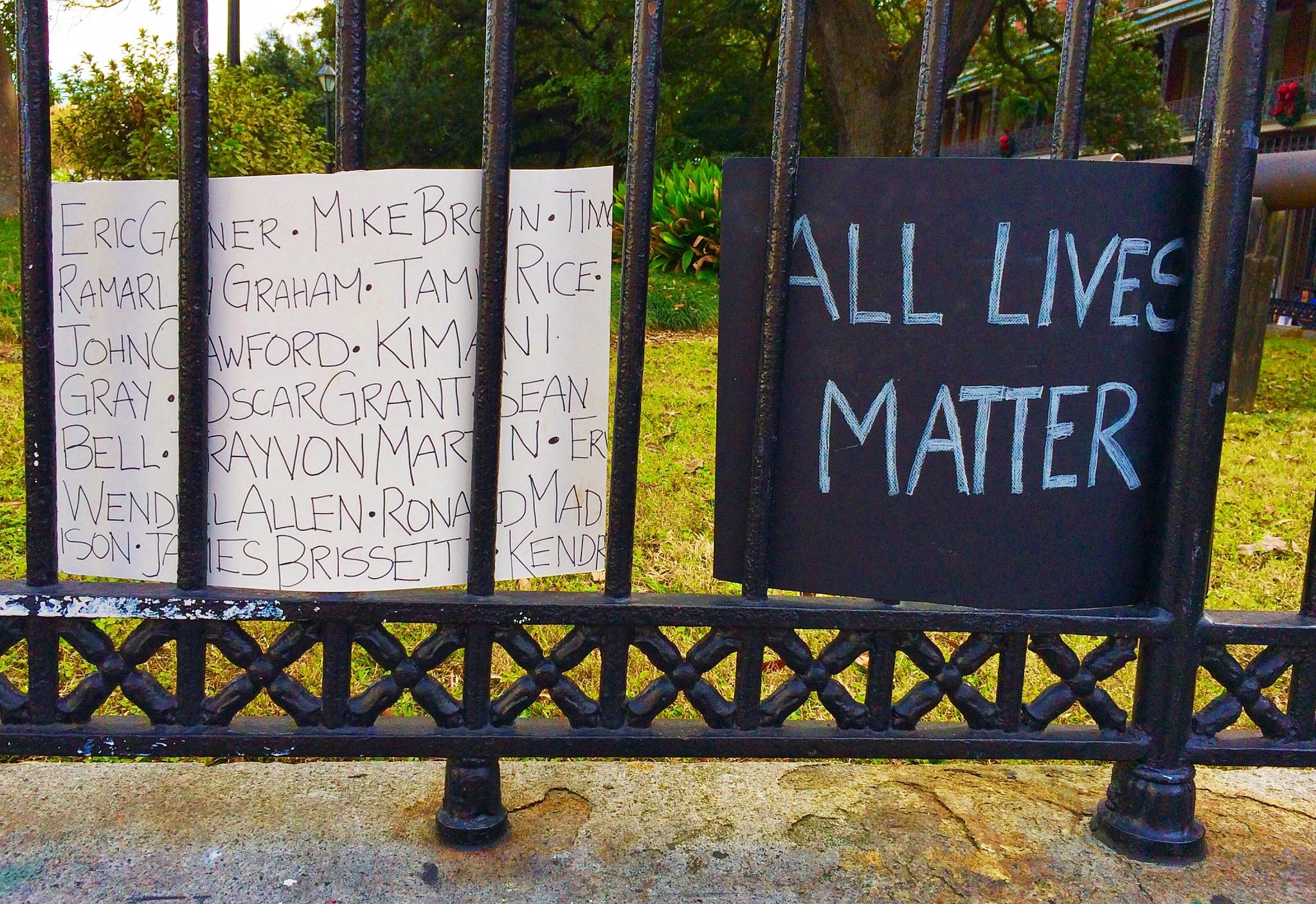 All Lives Matter by Jann Alexander © 2014