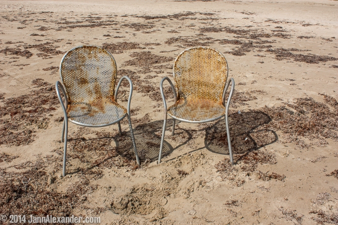 Beach Chairs by Jann Alexander ©2014