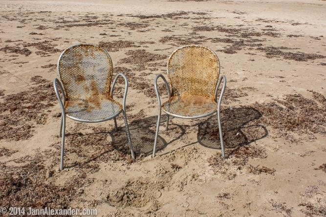 Beach Chairs by Jann Alexander ©2014