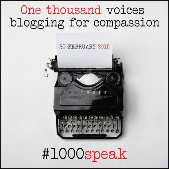 1000 Voice Speak for Compassion from Blogitudes
