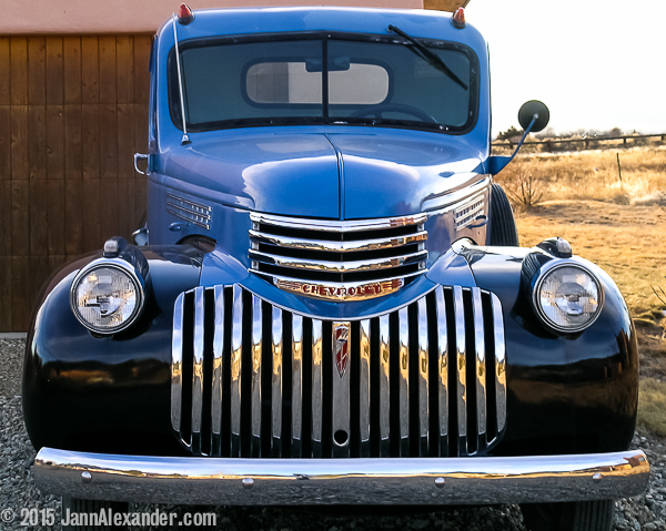 Chevy Symmetry by Jann Alexander ©2015
