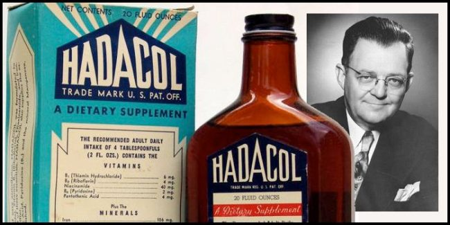 Hadacol and its inventor, Le Blanc