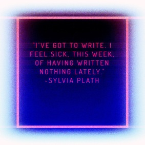 Sylvia Plath Quote by Jann Alexander ©2014
